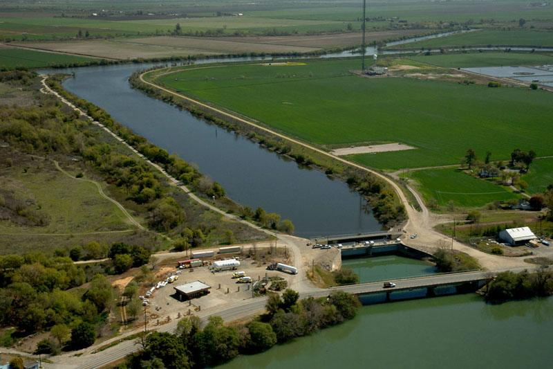 Sacramento San Joaquin Delta Water Distribution Water