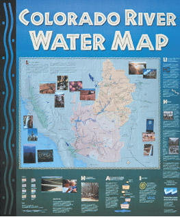 Colorado River Water Map Water Education Foundation