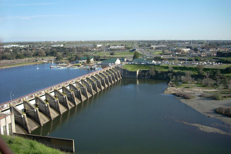 Nimbus Dam (Photo by Bureau of Reclamation)