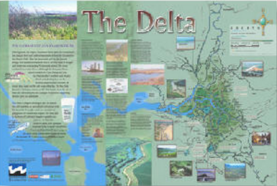 The Delta Map  Water Education Foundation