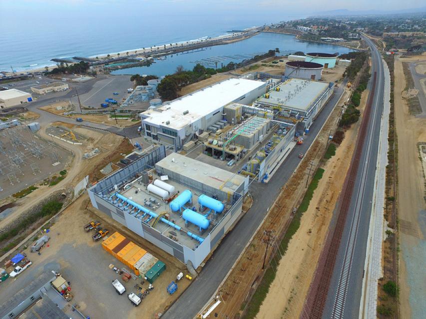 Desalination plant in Carlsbad