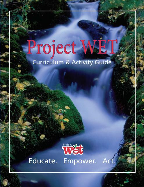 Image of Project WET Guide