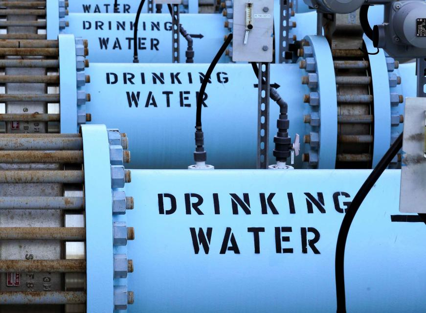 "The Claude ""Bud"" Lewis Desalination Plant in Carlsbad last December marked 40 billion gallons of drinking water delivered to San Diego County during its first three years of operation. The desalination plant provides the county with more than 50 million gallons of water each day."