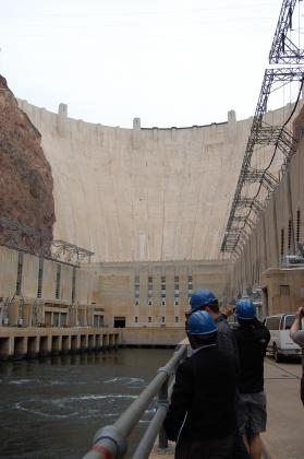 At Hoover Dam