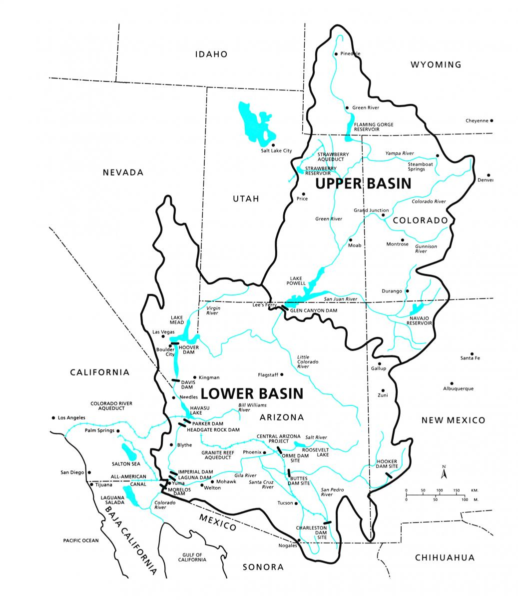 Map Of Colorado River In Arizona.As Colorado River Levels Drop Pressure Grows On Arizona To Complete