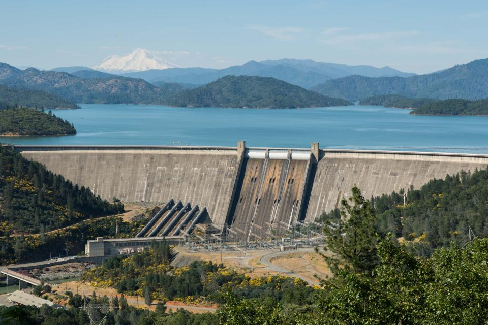 Federal officials are pursuing efforts to raise Shasta Dam on the Sacramento River in Northern California, despite state concerns that raising the dam would violate the protection for the McCloud River under California's Wild and Scenic Rivers Act.