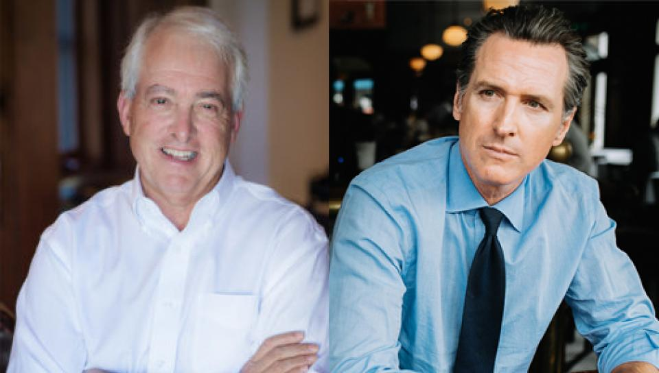 John Cox and Gavin Newsom, candidates for California governor.