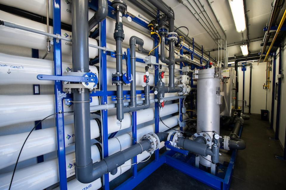 The Cambria Community Services District uses the latest technology to treat wastewater to levels that comply with California's strict environmental health regulations.