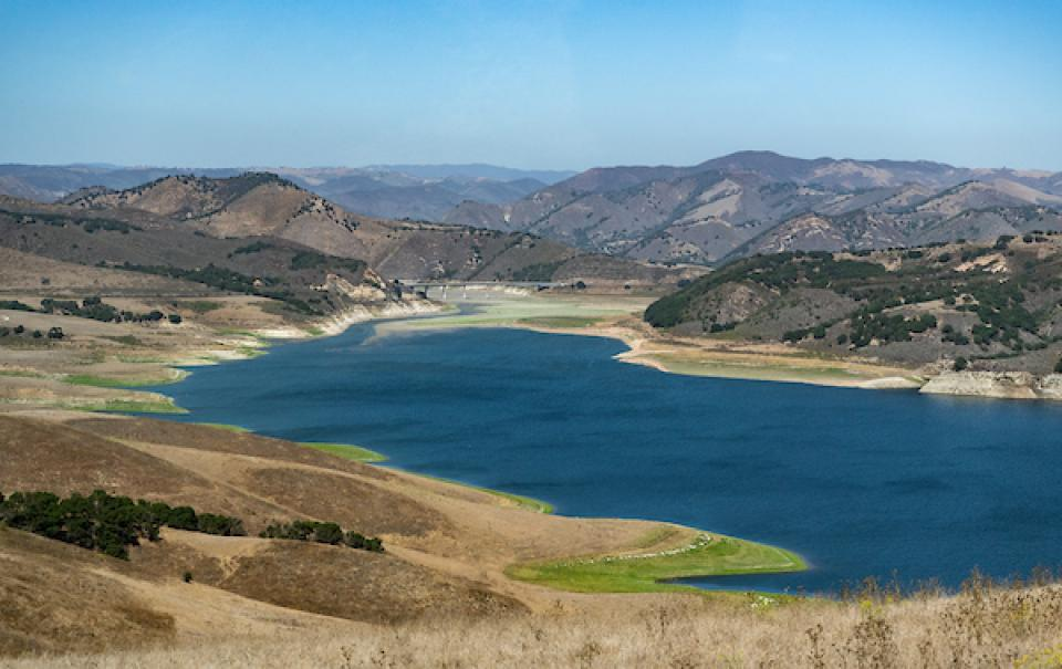 Twitchell Reservoir in southern San Luis Obispo County provides flood protection and increases groundwater recharge.