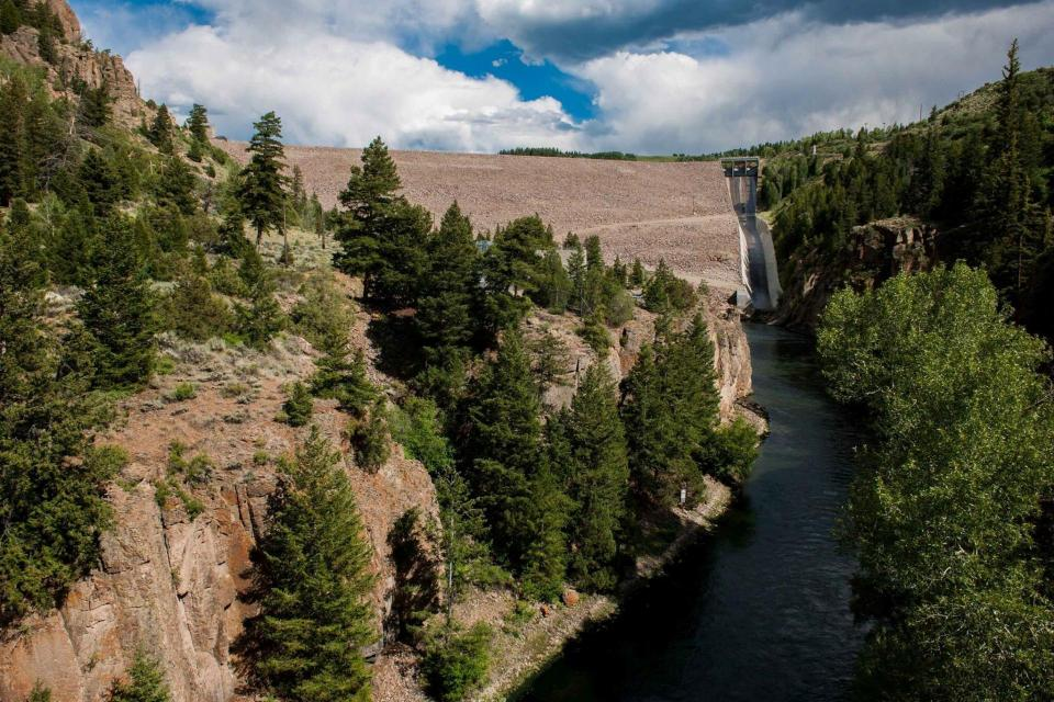 The Colorado Water Plan notes it may be more practical and efficient to enlarge an existing dam, such as Green Mountain Dam on the Blue River, a tributary of the Colorado River in northwestern Colorado.