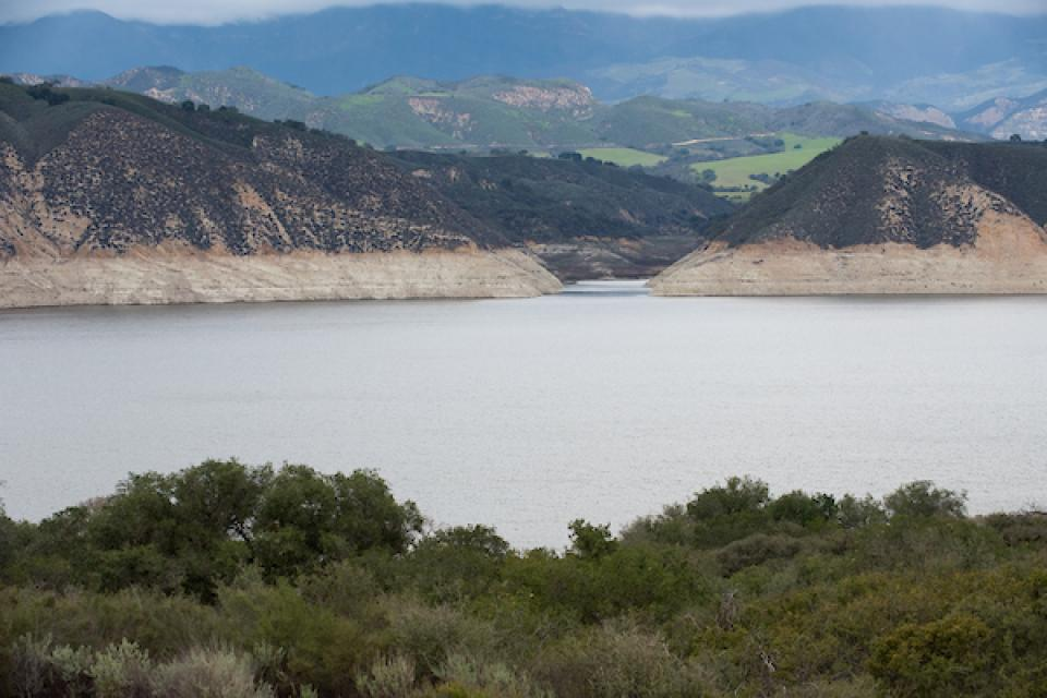 Lake Cachuma, one of the stops planned on the Edge of Drought Tour.