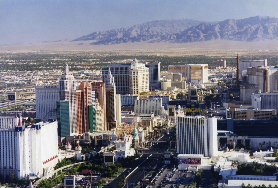 Las Vegas has reduced its water consumption even as its population has increased.