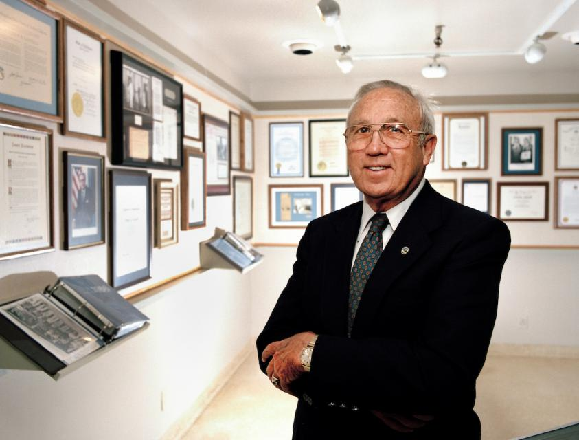 "William R. ""Bill"" Gianelli, former director of the California Department of Water Resources and second president of the Water Education Foundation's board of directors."