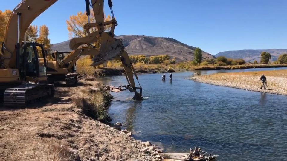 Stream improvements on the Upper Colorado River have been going on for five years, the result of a collaborative effort by ranchers near Kremmling, Colorado, and Trout Unlimited.