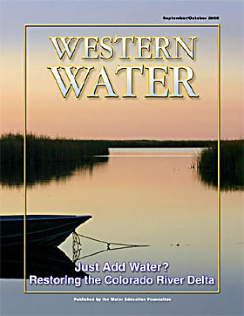 Just Add Water Restoring The Colorado River Delta Water Education