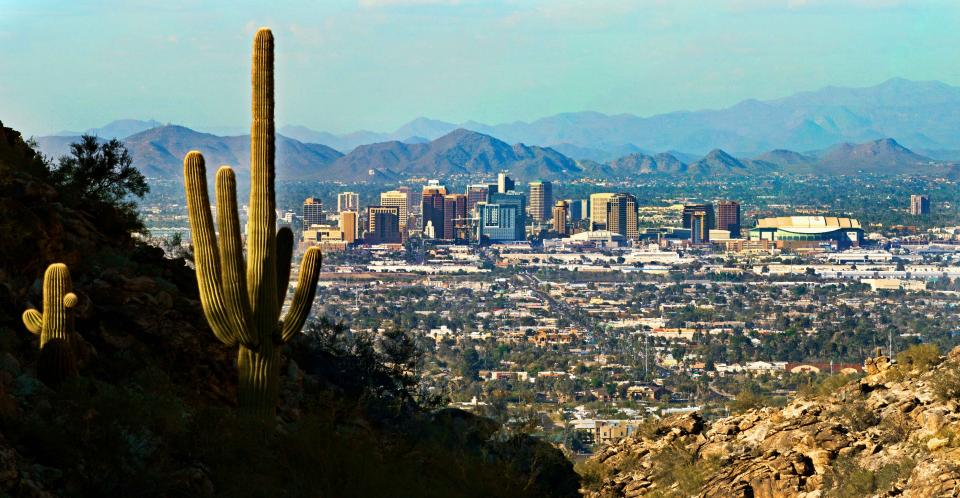 Skyline of Phoenix, Arizona
