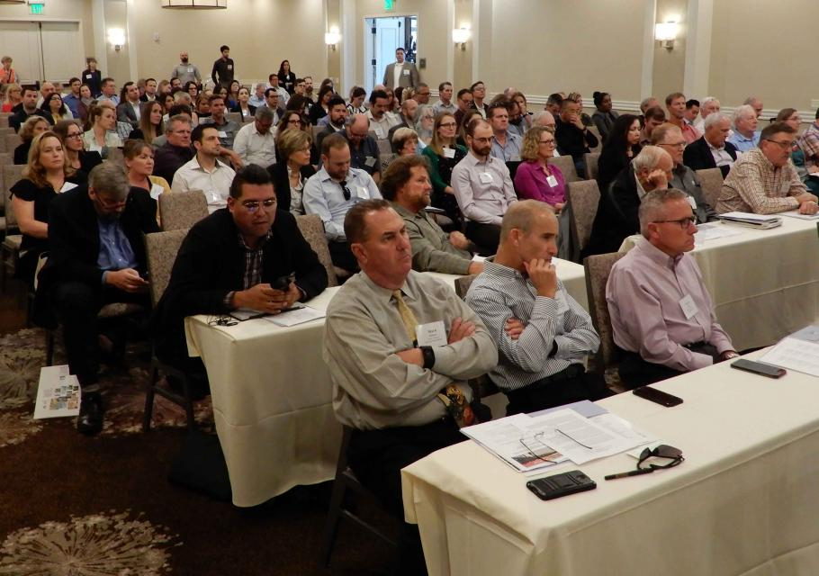 Attendees fill the meeting hall at the Water Education Foundation's  Sept. 20 Water Summit in Sacramento.