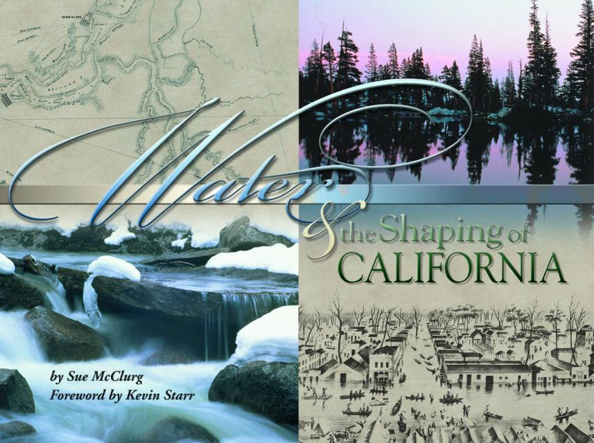 Book cover: Water & the Shaping of California
