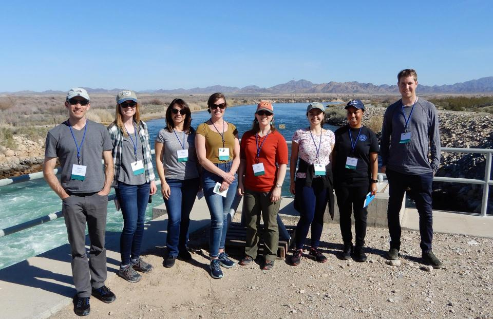 A group photo with the 2019 Water Leaders on our Lower Colorado River tour.
