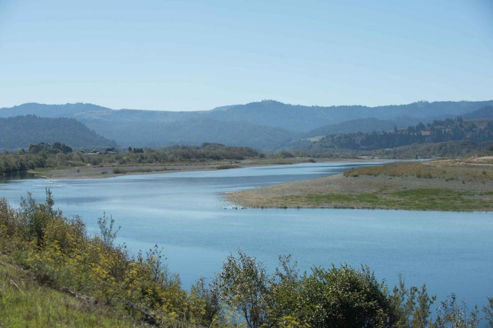 Eel River in Northern California
