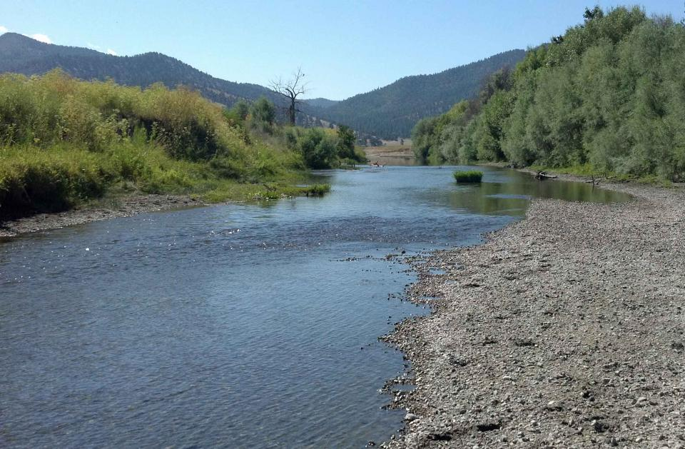 Scott River, in Siskiyou County.